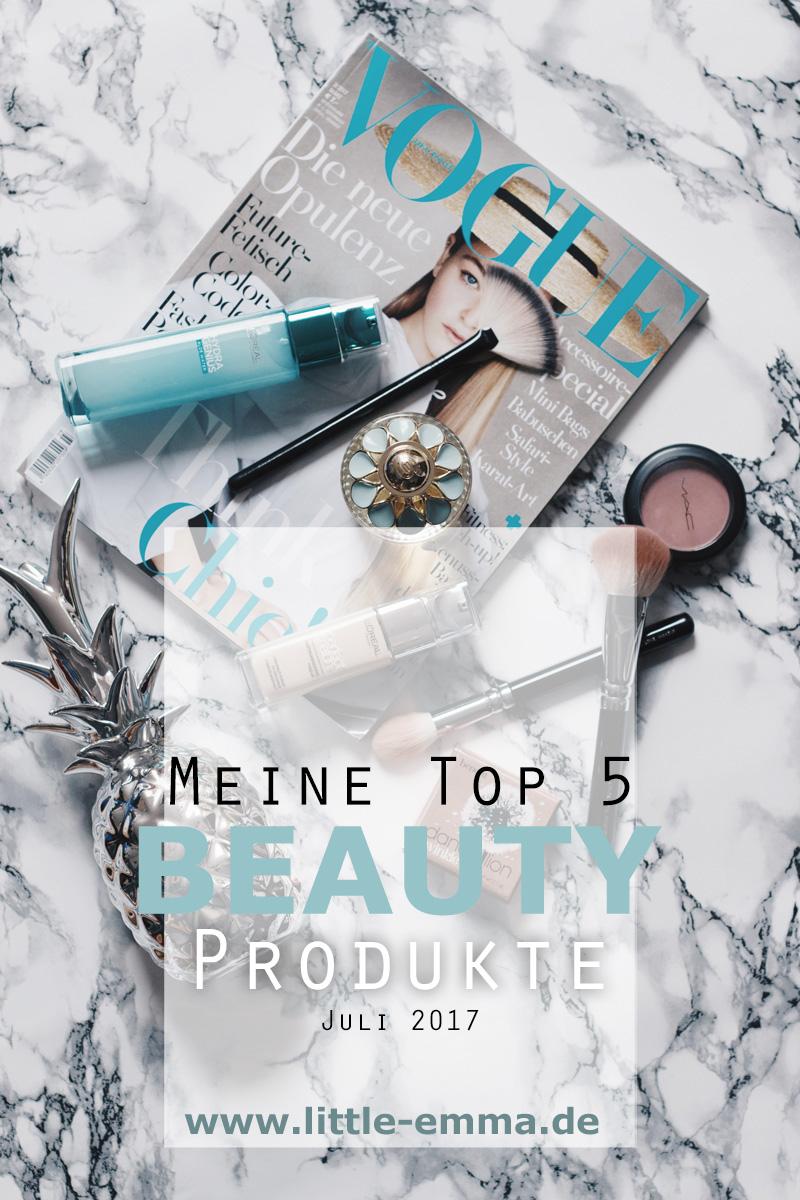 Beauty Favoriten Juli 2017 Beauty Blogger Little Emma Duesseldorf