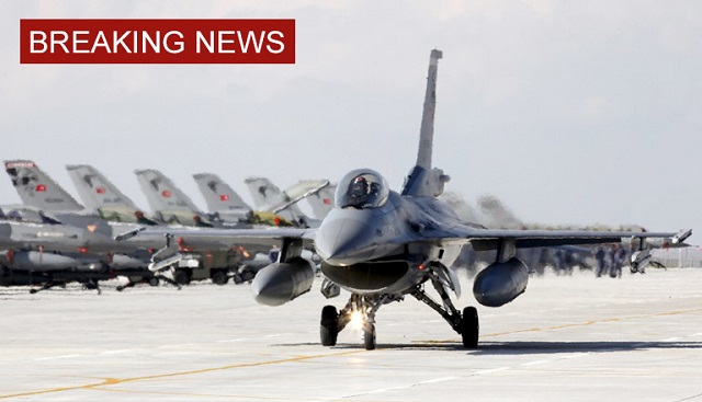 Turkey downs Russian warplane near Syria