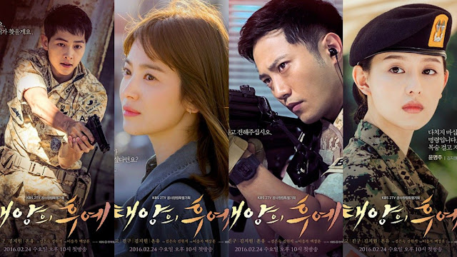 Download Drama Korea Descendants of the Sun Batch Subtitle Indonesia