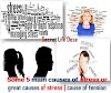 Some 5 main causes of stress or great causes of stress | cause of tension