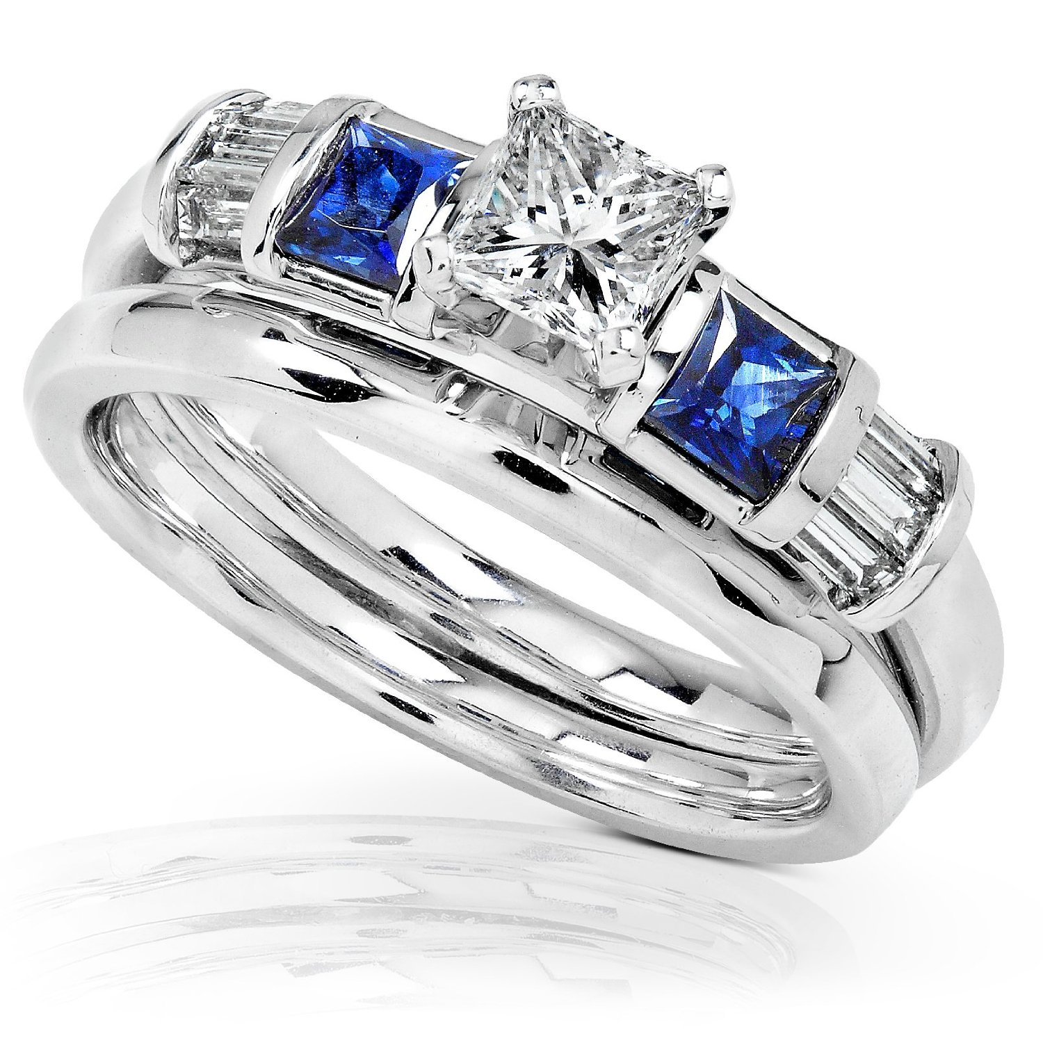 Carat Blue Diamond Engagement Rings