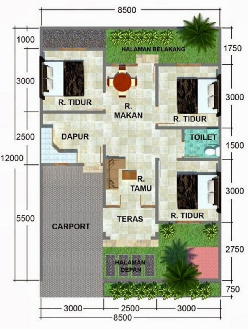 Rumah 2 Lantai Desain Modern Rumah Type 100 97 Rumah 2 Lantai Luas 100m2 Youtube Cute766