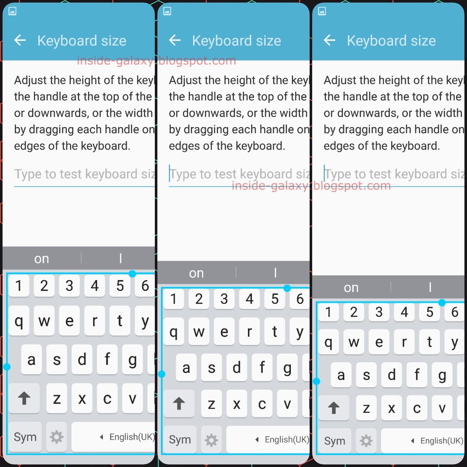 Samsung Galaxy S7 Edge: How to Adjust Samsung Keyboard Size
