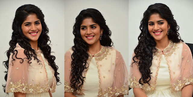 Megha Akash Photos At LIE Movie Promotions