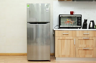 Không gian lưu trữ tối đa với tủ lạnh Lg