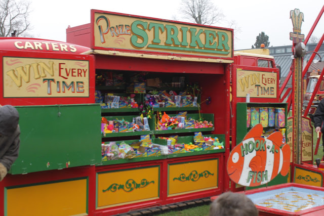 Win a prize every time with Carters Steam Fair hook a fish.