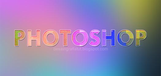 Cara-memasukkan-gambar-kedalam-teks-di-Photoshop