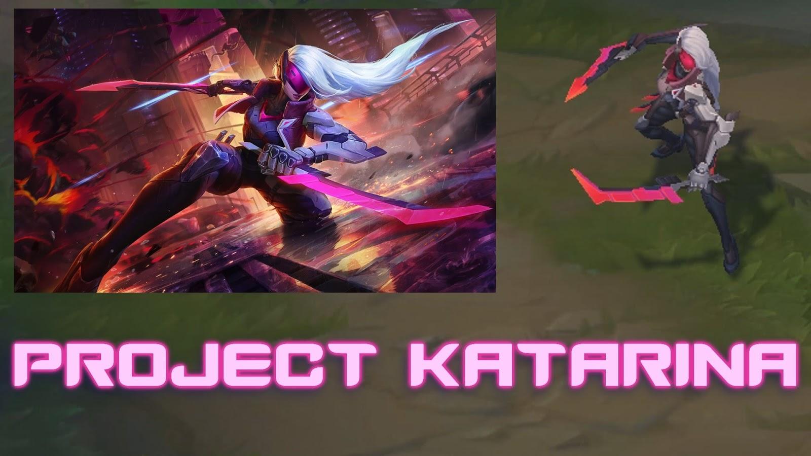Mod Skin Katarina Project