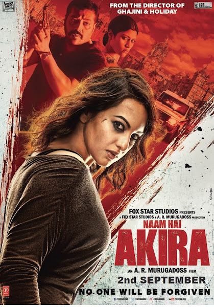 Poster Of Akira 2016 480p Hindi DVDScr Full Movie Download
