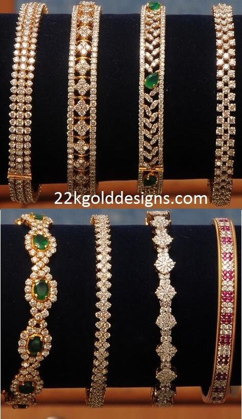 Kothari's Diamond Bangle Designs
