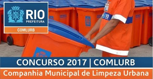 Apostila Concurso Comlurb RJ 2017
