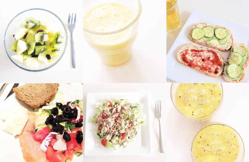 Mijn eetdagboek & motivatie