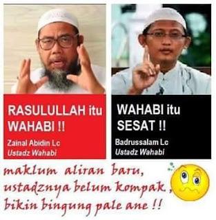 dalil wahabi