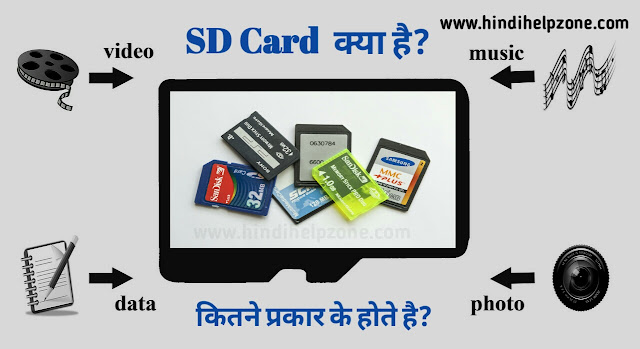 SD Card क्या है ? | SD Card कितने प्रकार के होते है ? (SD Card की पूरी जानकारी)