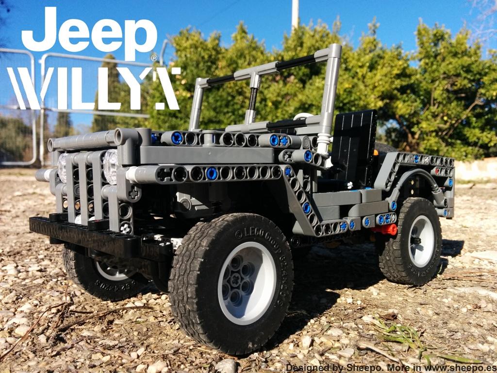 modular all terrain platform map jeep willys lego. Black Bedroom Furniture Sets. Home Design Ideas