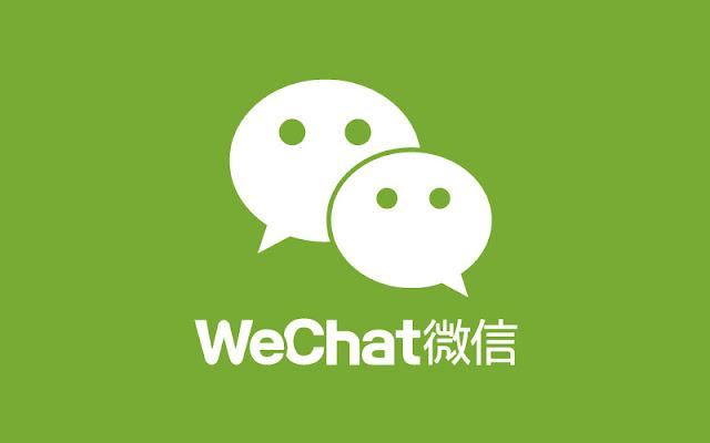 WeChat desenvolvido pela Tencent, lançado pela primeira vez em janeiro de 2011.
