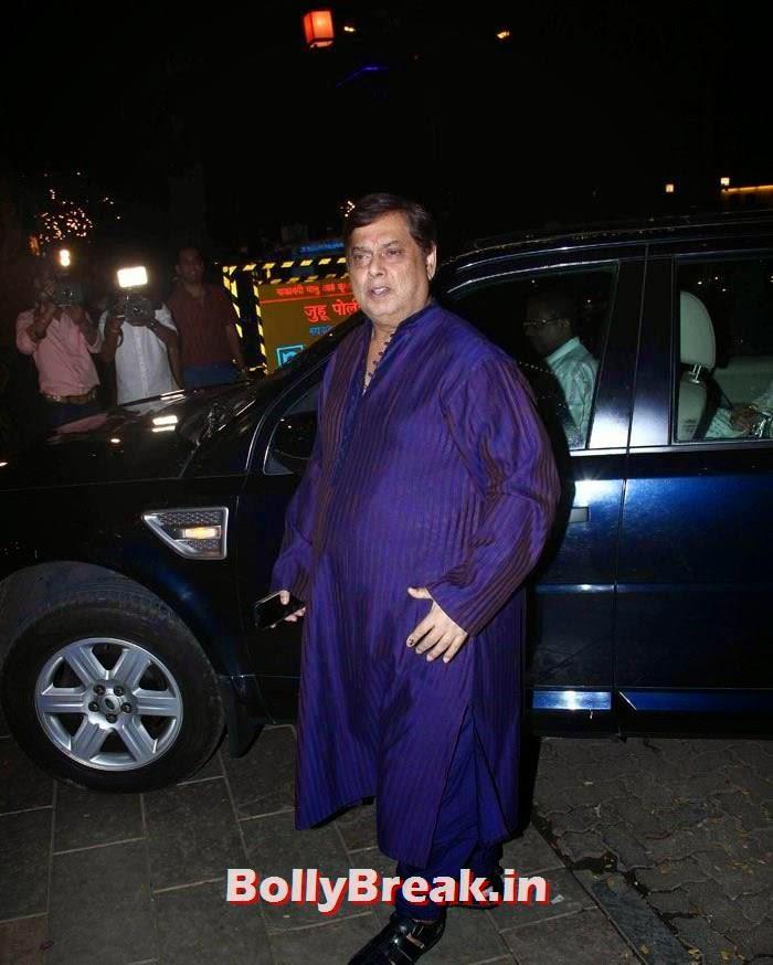 David Dhawan, Photos from Amitabh Bachchan's Diwali Bash 2014