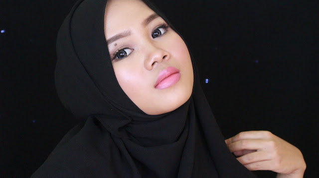 wardah intense matte lipstick blushing nude