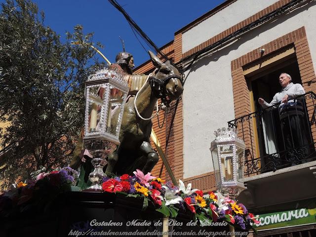 Crónica de la Semana Santa: Salida de la Borriquita y Virgen de la Soledad. parte II