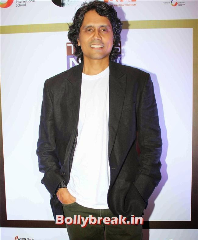 Nagesh Kukunoor, Monali Thakur, Pooja Bedi, Amitabh  NRI of The Year Awards 2014