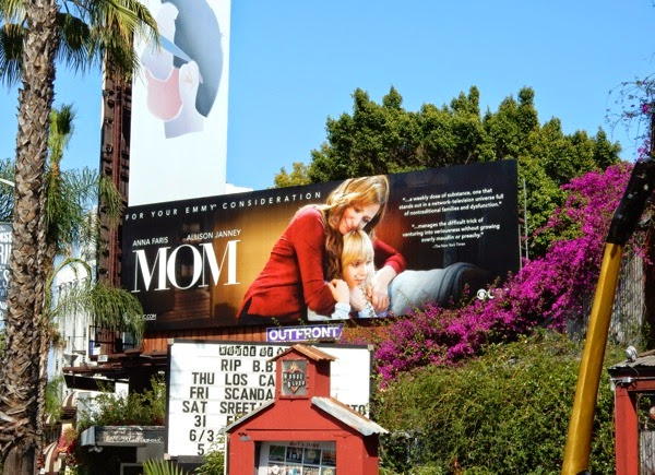 Mom sitcom Emmy 2015 billboard