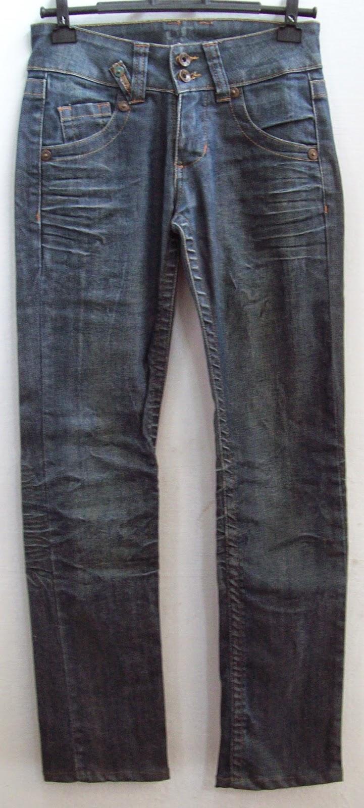 calça jeans Prefixo tamanho 34