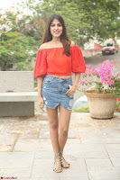 Rhea Chakraborty in Red Crop Top and Denim Shorts Spicy Pics ~  Exclusive 268.JPG