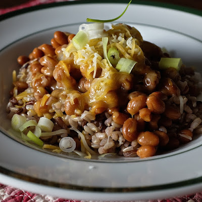 Fancy Beans over Rice: photo by Cliff Hutson