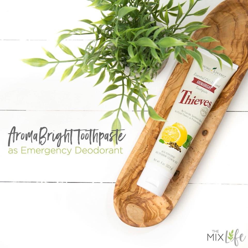 The Emergency Deodorant - Toothpaste | My Healthy Mind, Body