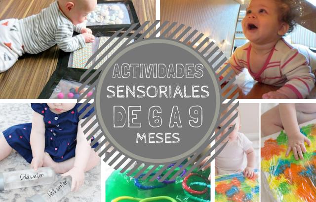 Actividades sensoriales para bebes