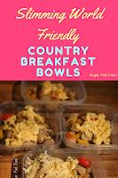 Slimming world breakfast bowls