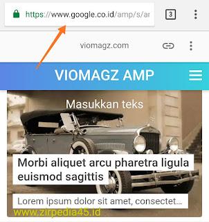 Download Template Viomagz AMP gratis terbaru