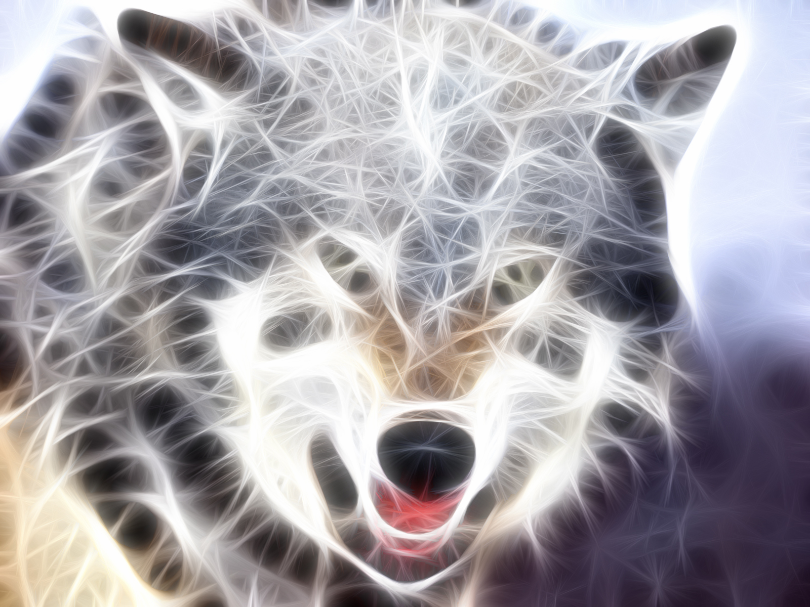 Tiger Animal Wallpaper Nice Animals Fractal All About Photo