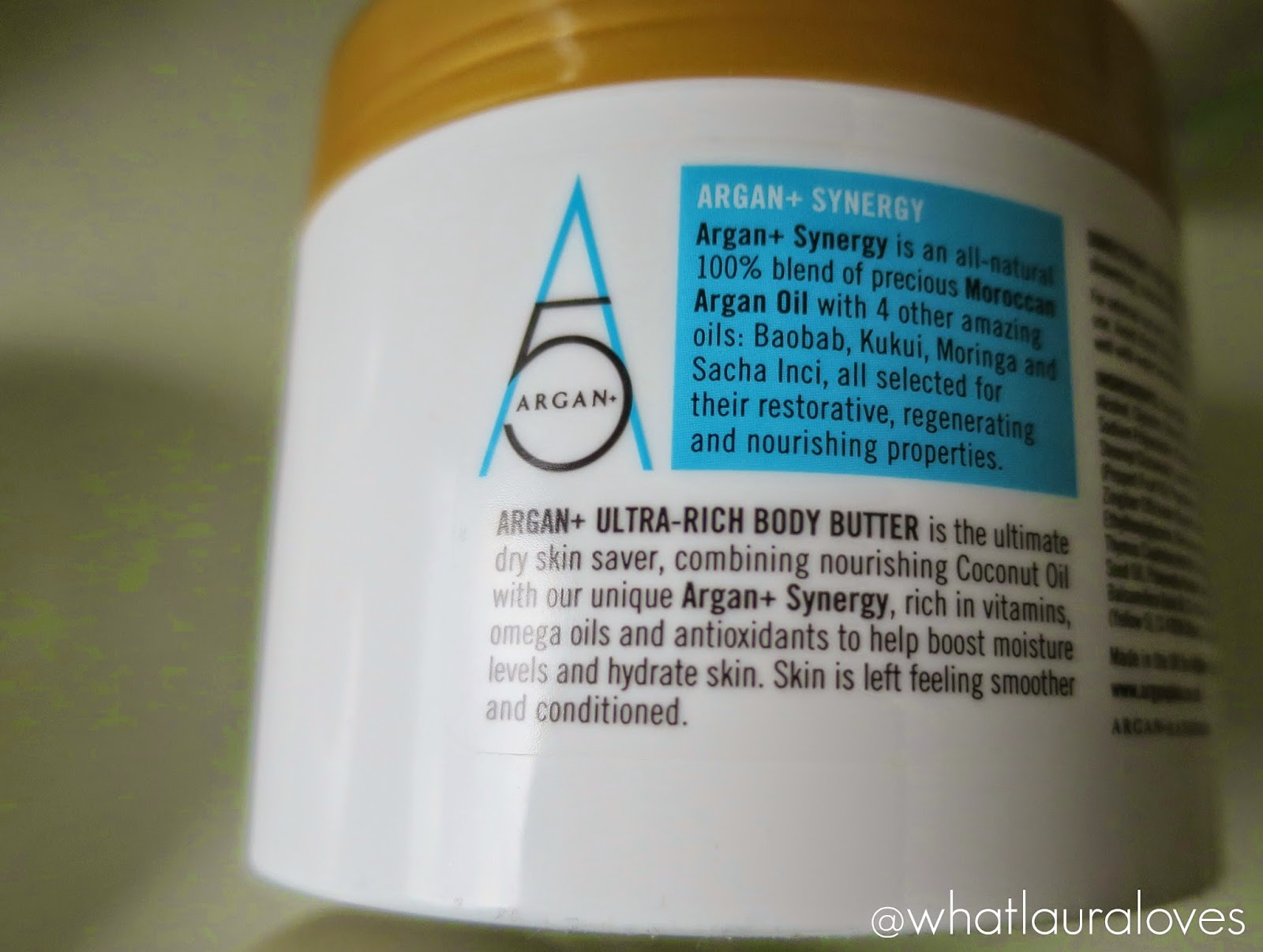Argan+ Ultra Rich Body Butter Review Image