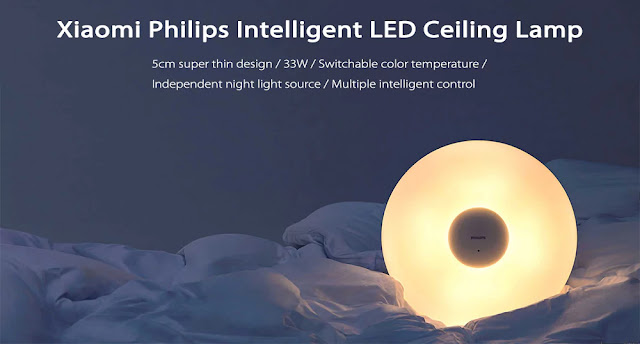 Coupon Xiaomi Philips LED Ceiling Lamp & Review