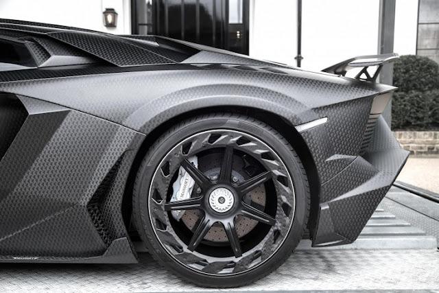 Magnate modifica el Lamborghini Aventador J.S. 1 Edición en un verdadero Batimovil