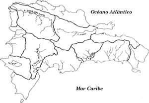 Mapa De Republica Dominicana En Blanco.Mapa De La Republica Dominicana Y Haiti En Blanco