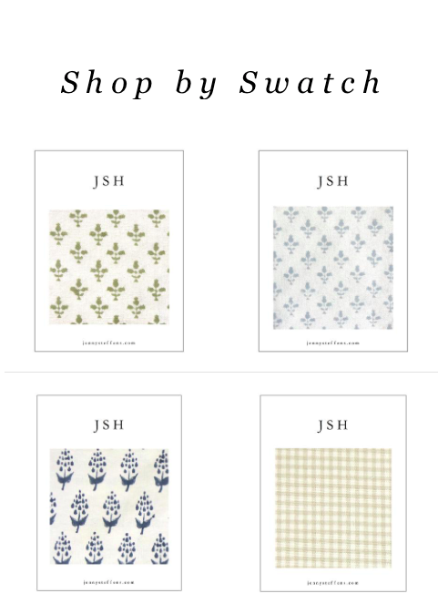 Shop By Swatch for Pillows & Table Linens