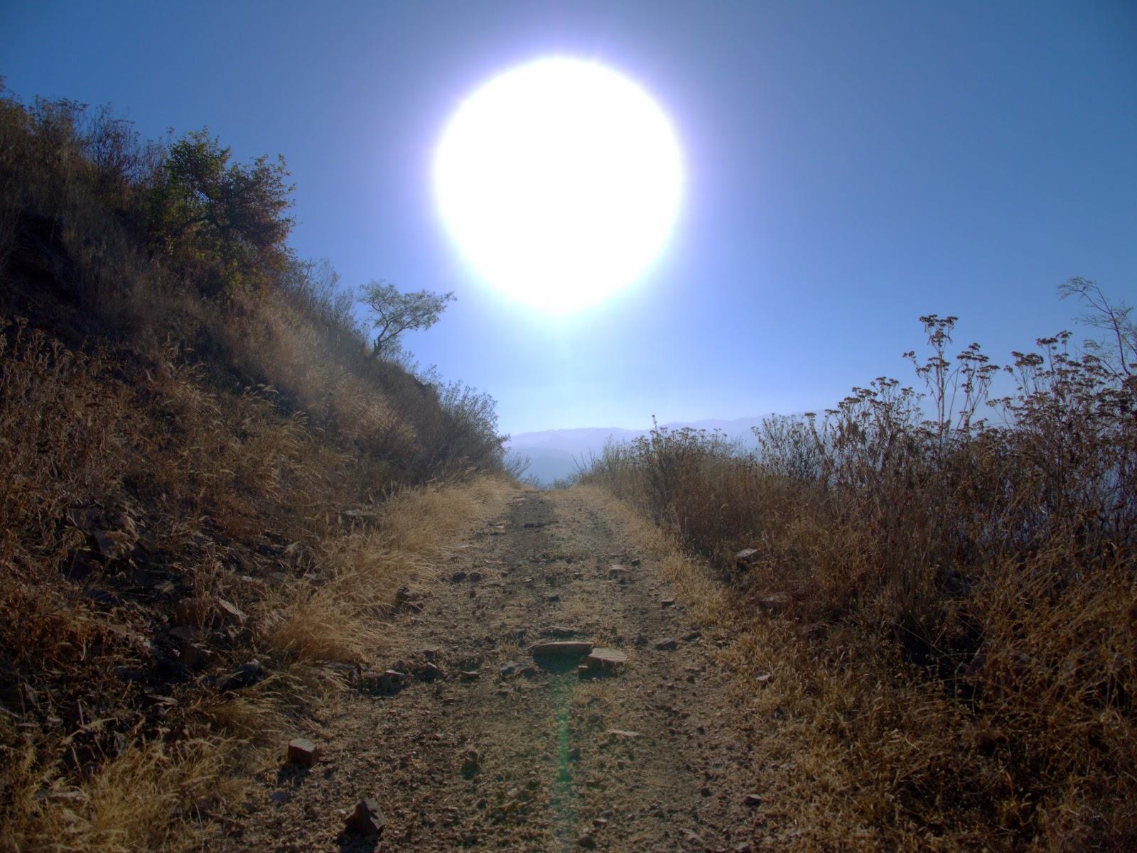 Sol brilha intensamente, iluminando o caminho: ilustra a seção a respeito dos textos das linhas de ''Chin / Progresso'', um dos 64 hexagramas do I Ching, o Livro das Mutações
