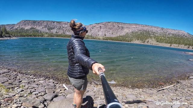 Hiking to Blind Lake, Boulder Mountain