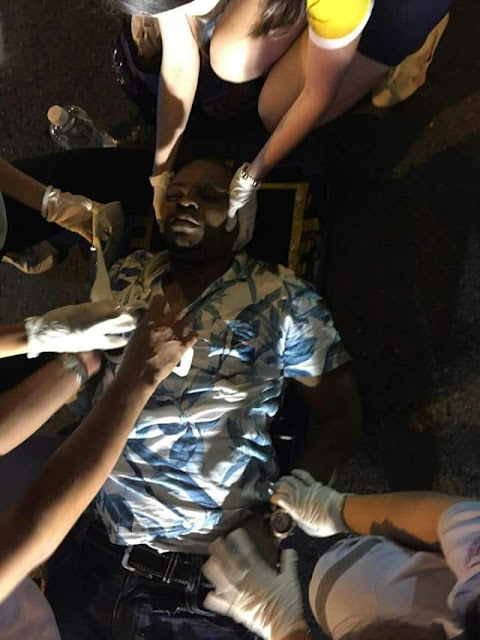 A Nigerian Man Hit & killed By A Car While Running Away From Thai Immigration Officers.