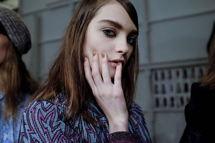 NYFW Fall/Winter 2016 nail trends Karen Walker