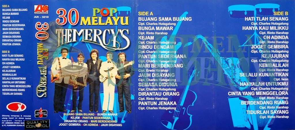 SAHBANA: The Mercy's - 30 Pop Melayu