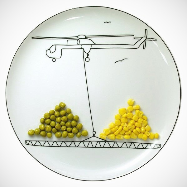 Creative and playful plates by Baguslaw Sliwinski