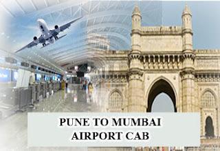 Pune to Mumbai  Airport cab Service