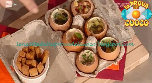 Ovetti di Pasqua alla coque ricetta Mainardi da Prova del Cuoco