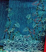 Kain Batik-Prima Bambu Biru