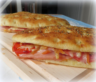Hot Italian Foccacia Melts