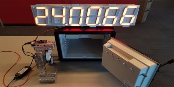 Παραβίαση χρηματοκιβωτίου από χάκερ με χρήση ρομπότ