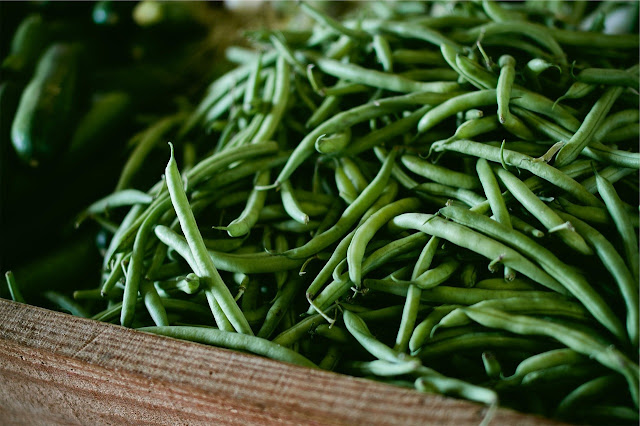 nutrition facts of green beans